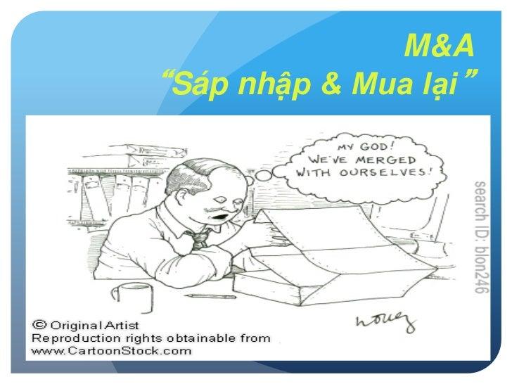 """Viet Nam Investor's Day -  M&A """"Sáp nhập & Mua lại"""""""