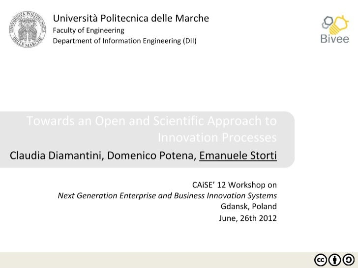 SummaryI. Introduction   •        Background   •        Main issues in innovation management   •        Research questionI...