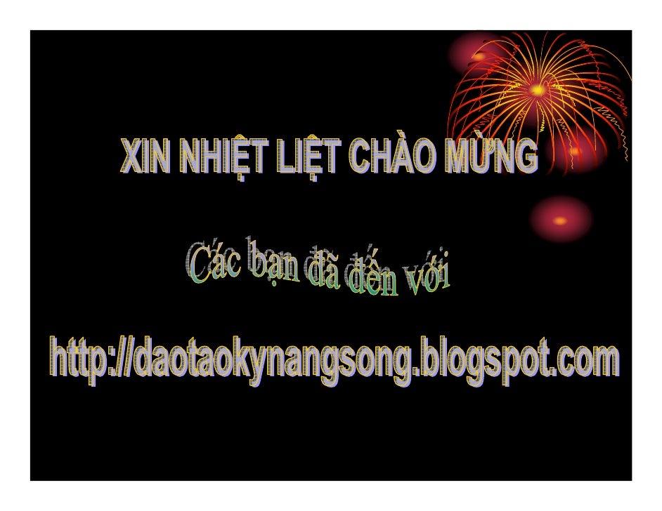Nghe Thuat Noi Truoc Dam Dong