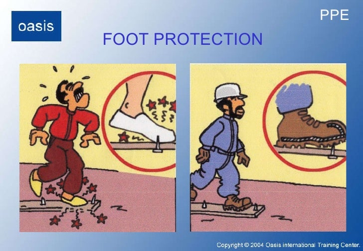FOOT PROTECTION PPE