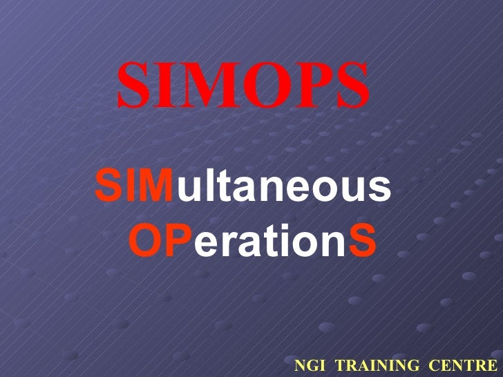 simops Hse practice simops procedure - download as pdf file (pdf), text file (txt) or read online scribd is the world's largest social reading and publishing site search search.