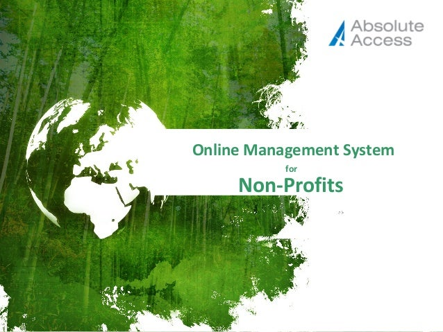Online Stakeholder Engagement Management System for Non-Profits