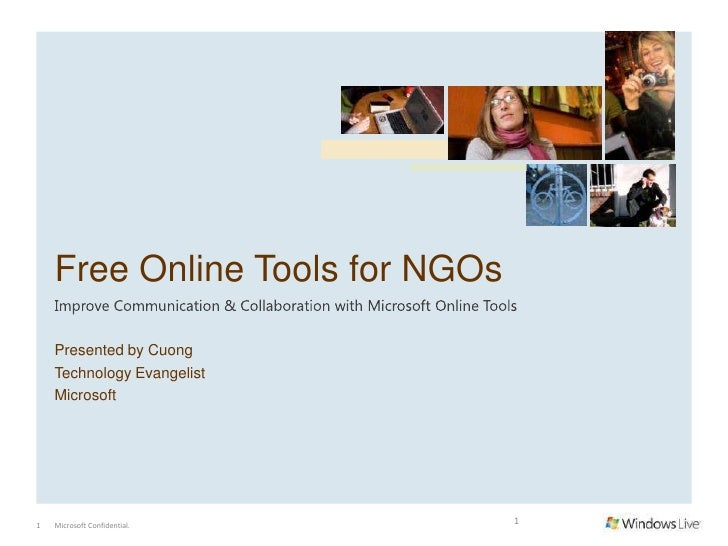 Free online tools for social networking