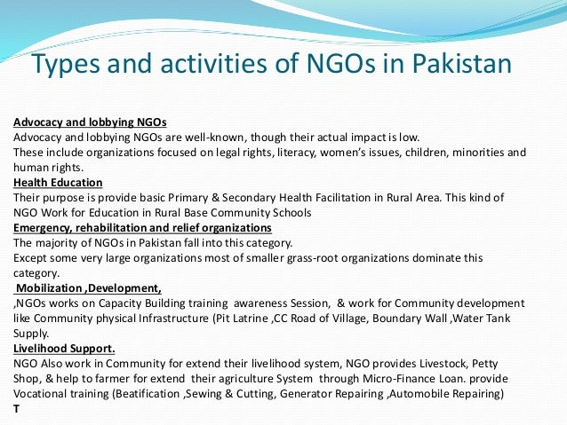 research on lobbying and ngos Lobbying initiatives by ngos covered in this received and additional ngos identified during research for lush lobbying prize 2013 – background paper.