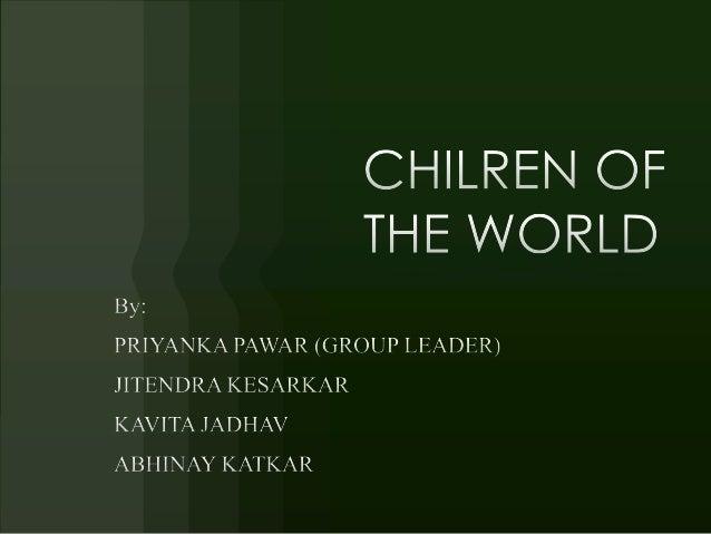 Ngo children of world