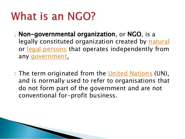 theoretical framework on non governmental organisations A framework for analyzing ngos' approach to capacity development  to answer , theoretically and empirically, by examining how ngos have appropriated the.
