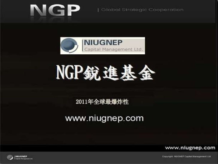投资PE | 纽高鹏 NGP | MS锐进基金