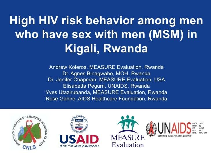 Andrew Koleros, MEASURE Evaluation, Rwanda Dr. Agnes Binagwaho, MOH, Rwanda Dr. Jenifer Chapman, MEASURE Evaluation, USA E...