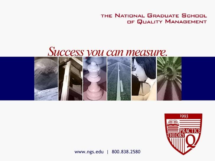 www.ngs.edu     800.838.2580