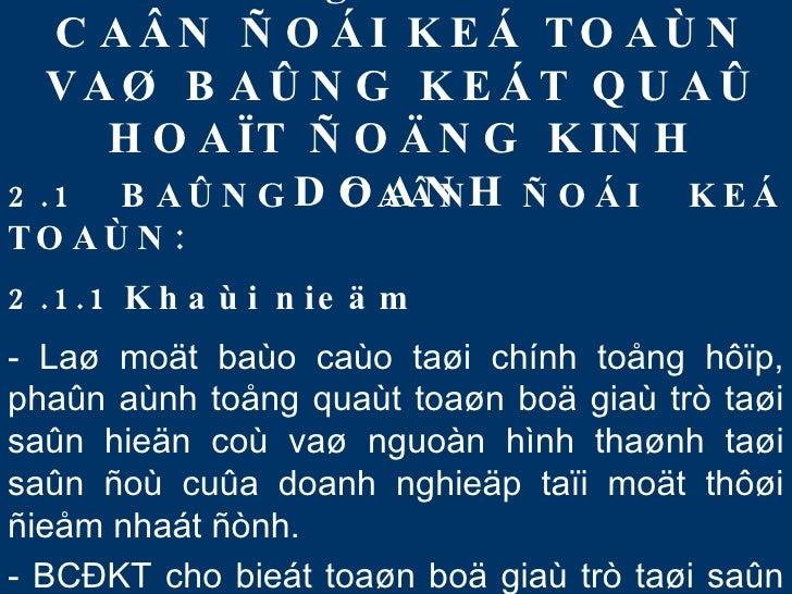 Nguyen Ly Ke Toan Chuong II