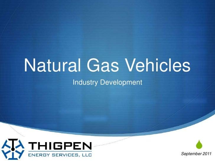 NGV Industry Development