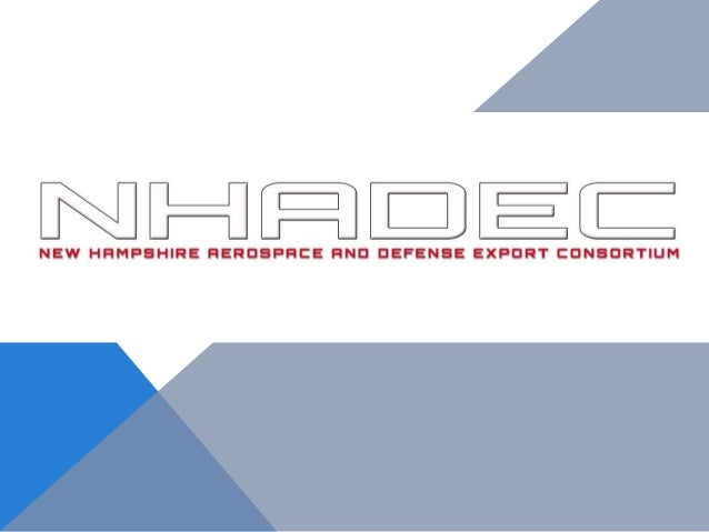 New Hampshire Aerospace and Defense Export Consortium