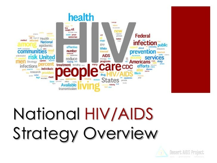 Desert AIDS Project and the National HIV/AIDS Strategy