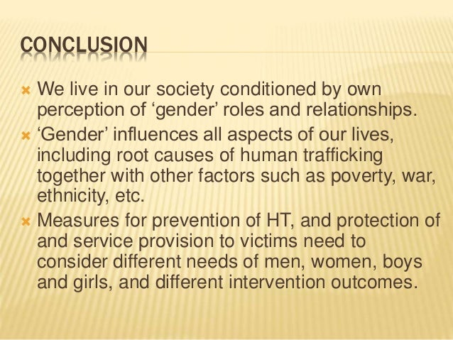 essay on trafficking of human