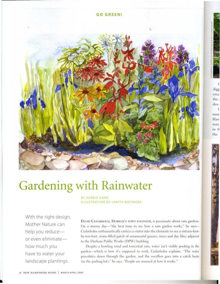NH: Gardening wiht the Rain