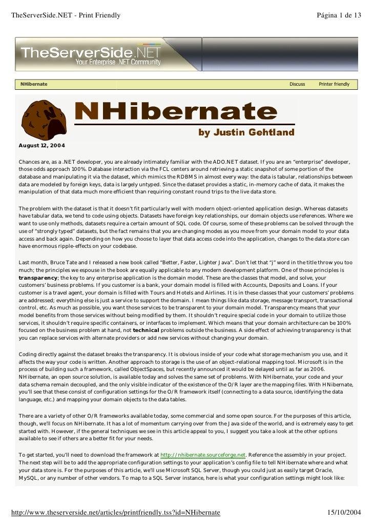 TheServerSide.NET - Print Friendly                                                                                        ...