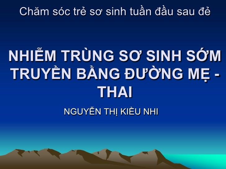 Nhiem Trung So Sinh