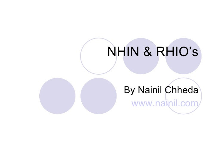 Nhin And Rhio