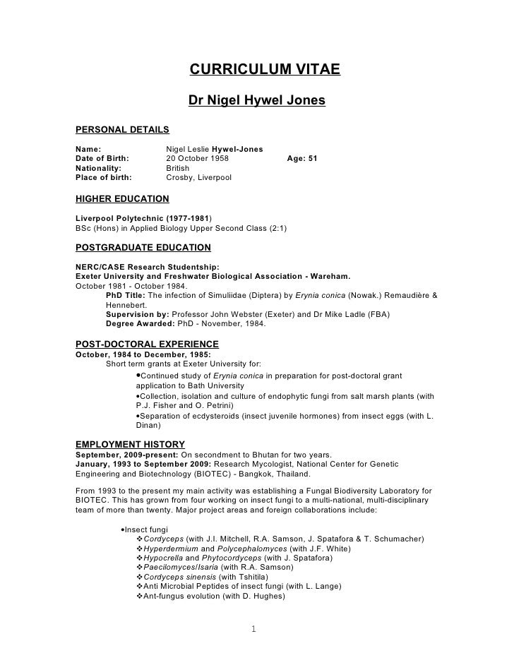 Biologist Resume Central America Internet Ltd  Biology Resume