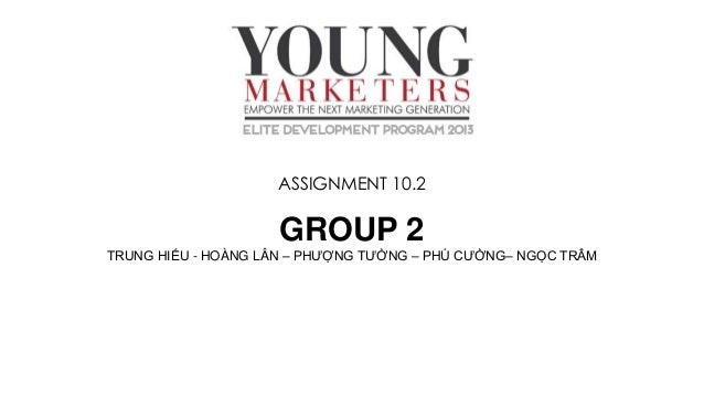 Nhom 3  - Elite Young Marketers - 2 nd grand presentation
