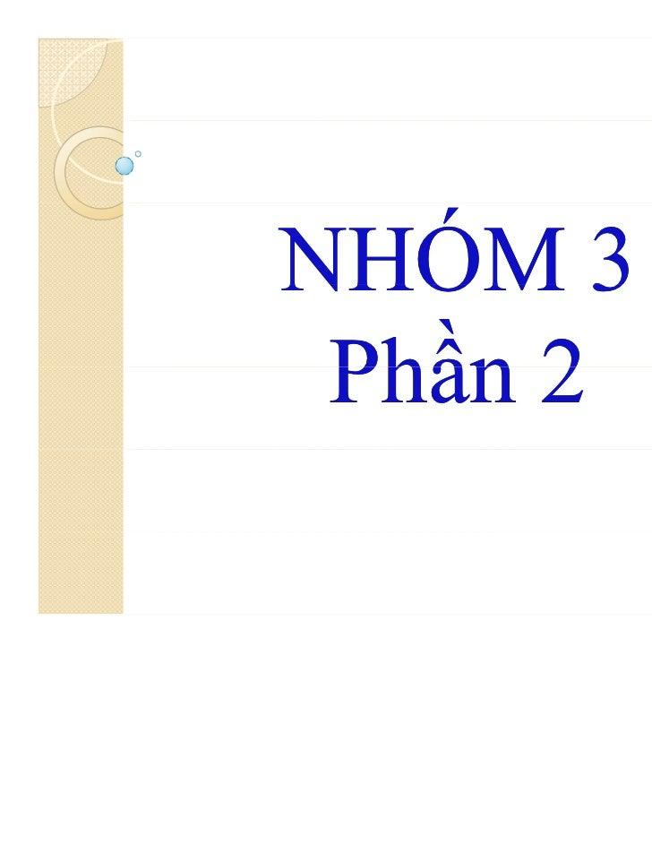 NHÓM 3 Phần 2