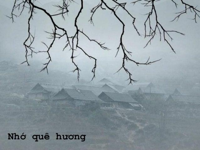 Nhớ quê hương - Thái Hiền
