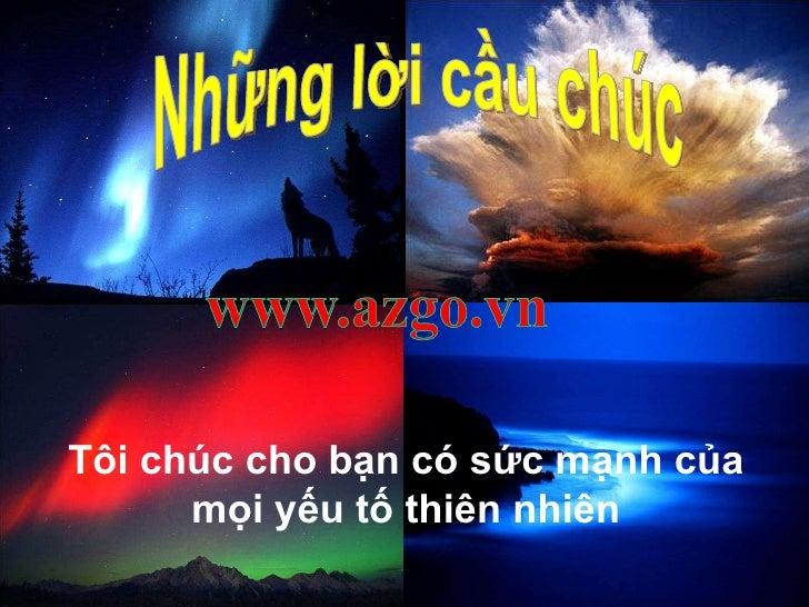 Nhung Loi Cau Chuc