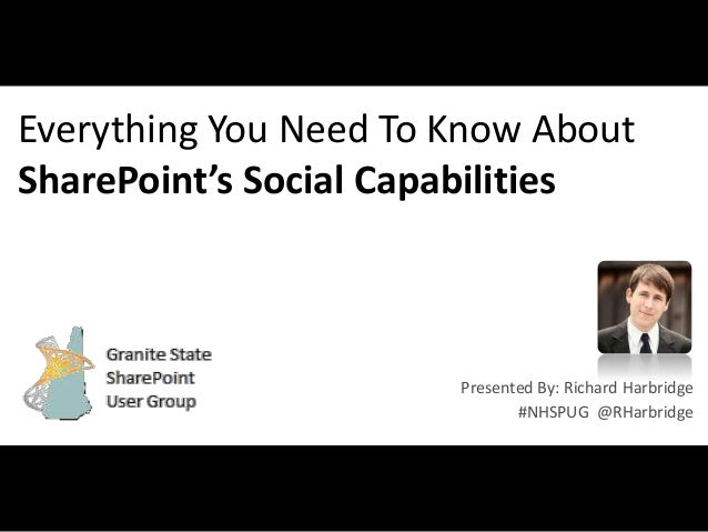 Everything You Need to Know About SharePoint Social