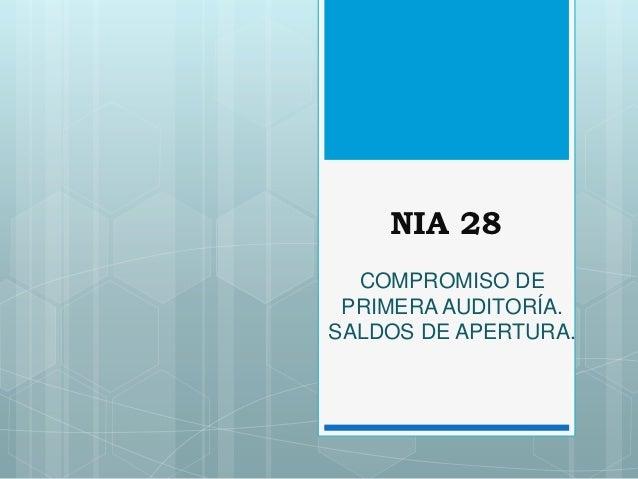 Nia 28 y 29