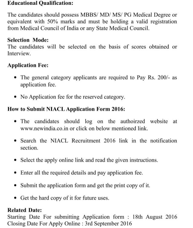 Niacl job recruitment 2016 latest 15 administrative officer posts result ilovepdf-compressed