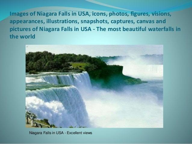 Niagara Falls Figures Images of Niagara Falls in Usa