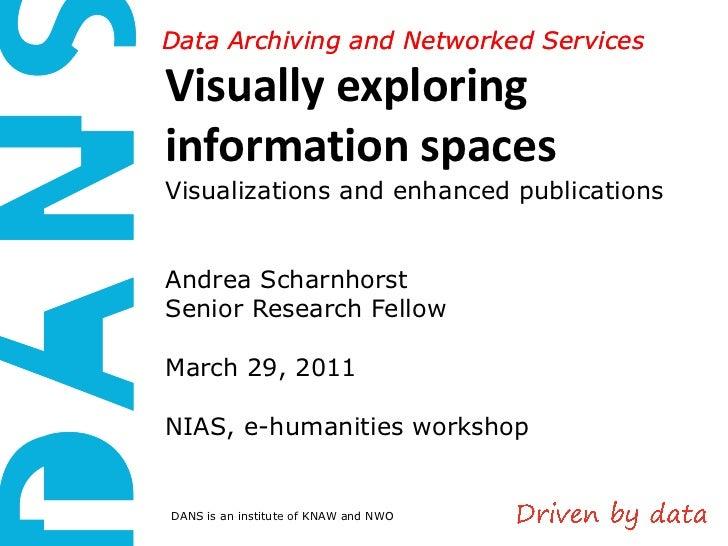 Nias2011, enhanced publications, scharnhorst, 19 march2011