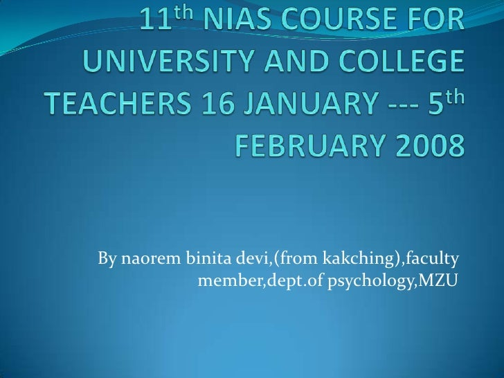By naorem binita devi,(from kakching),faculty           member,dept.of psychology,MZU