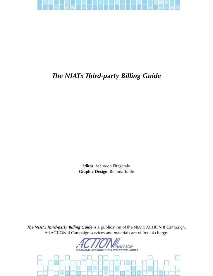 NIATx Third-Party Billing Guide