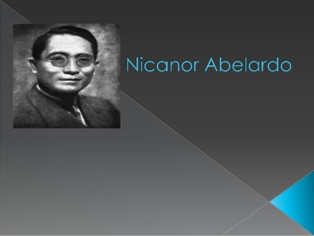 Nicanor abelardo 2