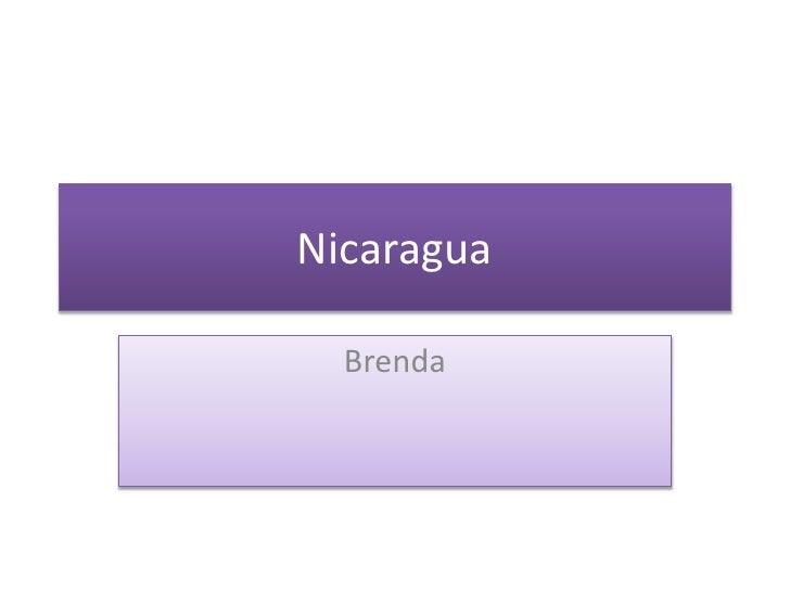 Nicaragua    Brenda