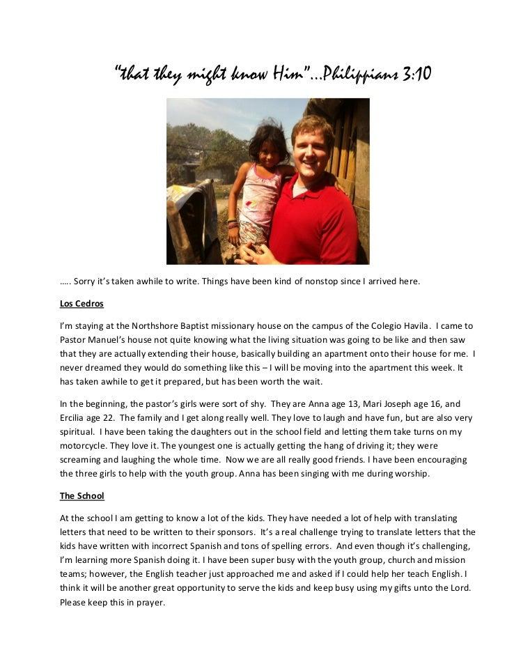 Nicaragua mission newsletter  jul11