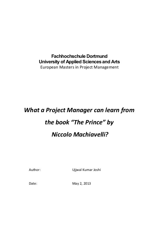 Fachhochschule DortmundUniversity of Applied Sciences and ArtsEuropean Masters in Project ManagementWhat a Project Manager...
