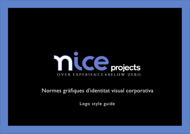Logo Style Guide - Nice Projects
