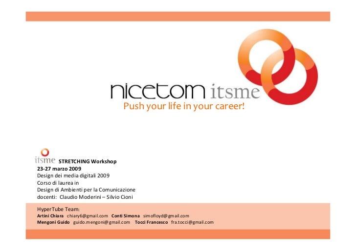 Nicetom itsme   hypertube team, itsme workshop