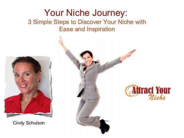 Your Niche Journey:      3 Simple Steps to Discover Your Niche with                 Ease and InspirationCindy Schulson