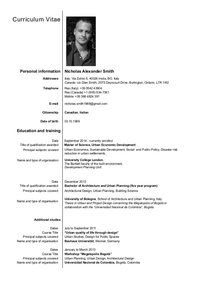 resume for models beginners
