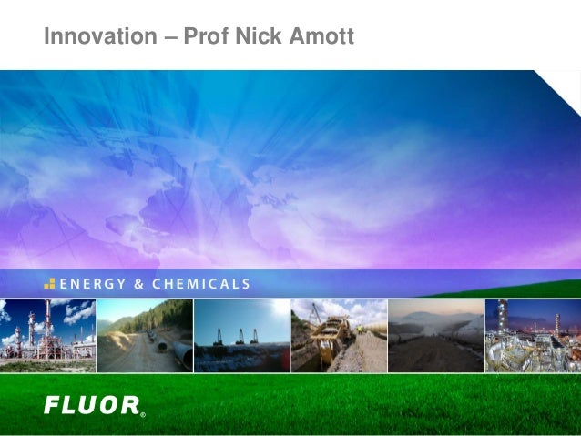 Innovation – Prof Nick Amott