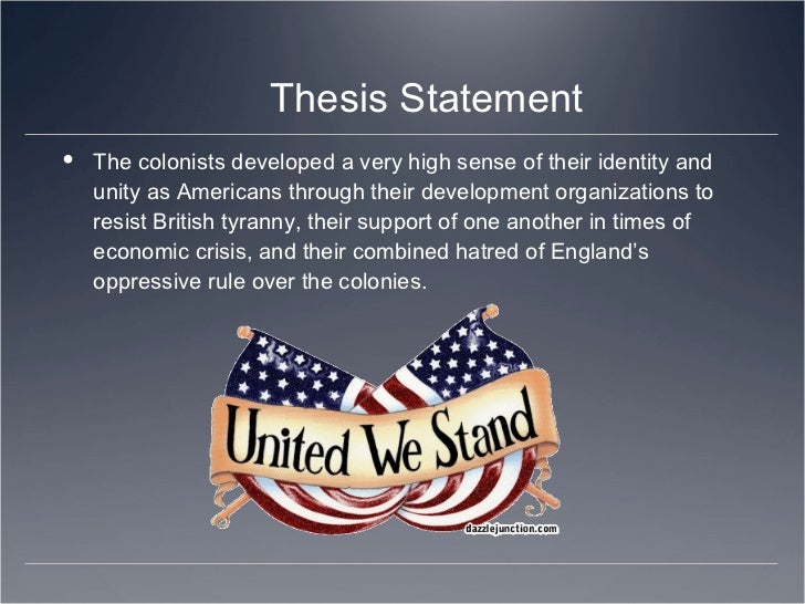 american history thesis examples