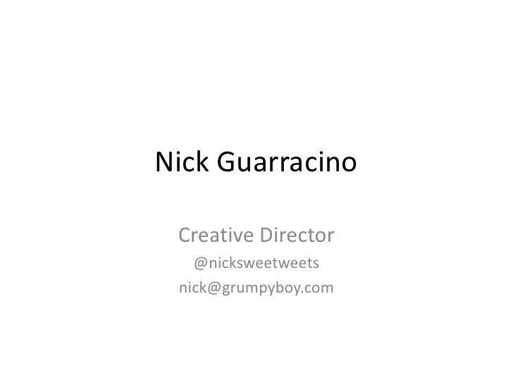 Nick Guarracino of VaynerMedia