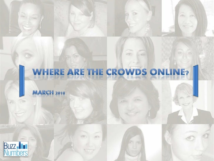 BuzzNumbers - Where are the crowds online? (New Media Summit Presentation)