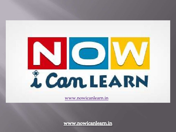 www.nowicanlearn.in
