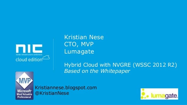NIC - Hybrid Cloud with NVGRE - Level 400
