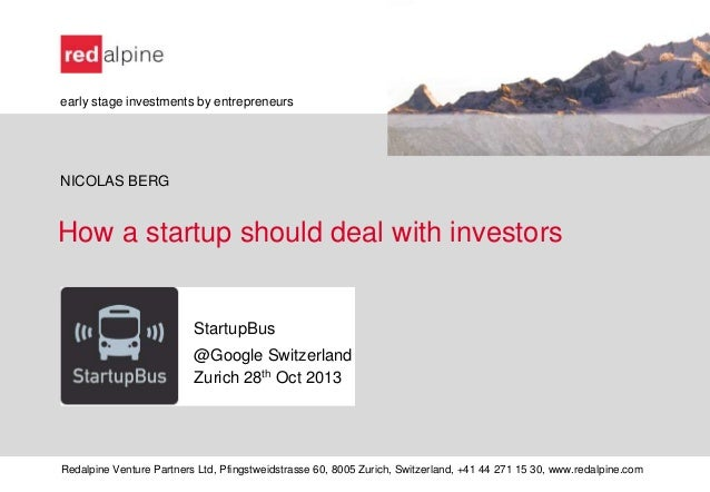 Deal with investors_StartupBus @Google Switzerland_Nicolas Berg_oct2013