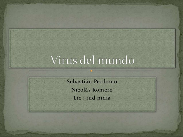 Sebastián Perdomo  Nicolás Romero  Lic : rud nidia